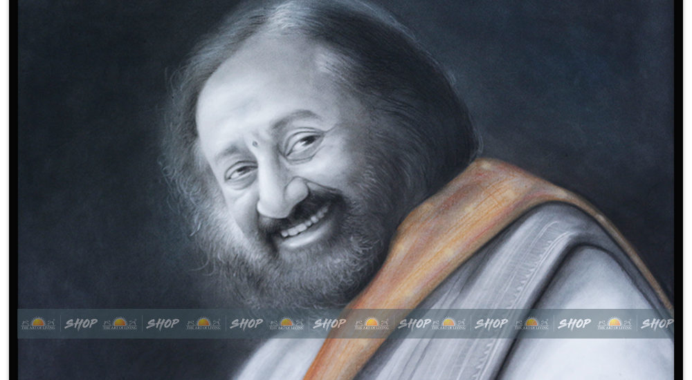 sri sri ravishankar ji painting